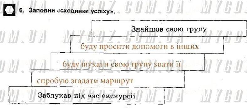 ГДЗ номер 6 2013 Бойченко, Василашко 5 клас