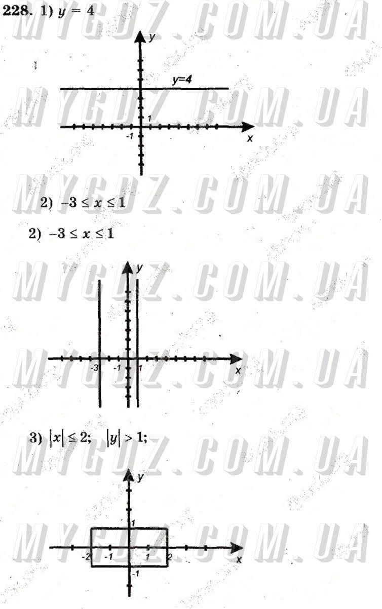 ГДЗ номер 228 до збірника задач і контрольних робіт з математики Мерзляк, Полонський 6 клас