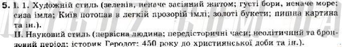 ГДЗ номер 5 до підручника з української мови Пентилюк, Гайдаєнко 9 клас