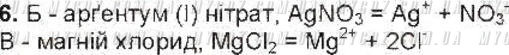 ГДЗ номер 6 до підручника з хімії Ярошенко 9 клас