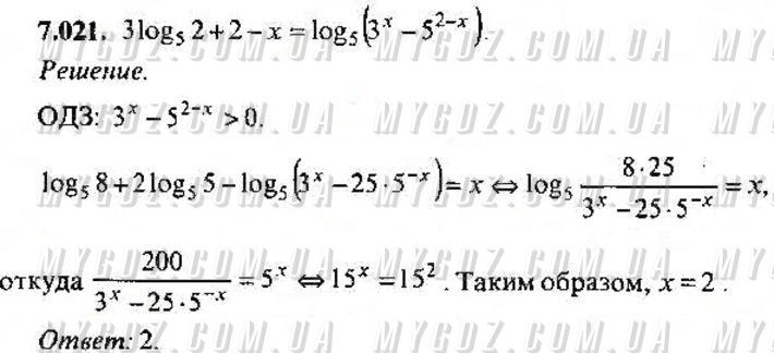 ГДЗ номер 21 2013 Сканаві 11 клас