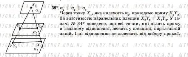 ГДЗ номер 35 2001 Погорєлов 11 клас